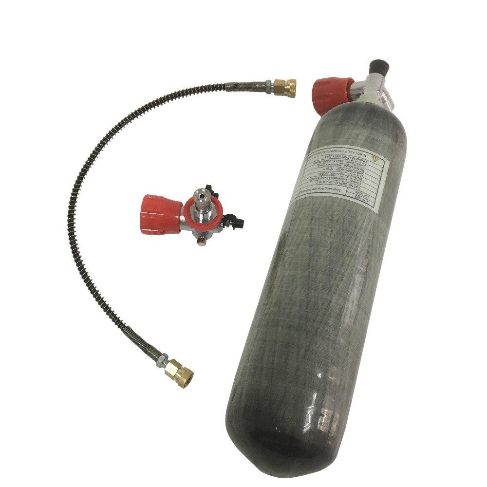 AC103101 3L CE углеродное волокно 4500Psi бак мини резервуар высокого давления баллоны заправка газовые Gylinders Pcp Airforce Condor-R