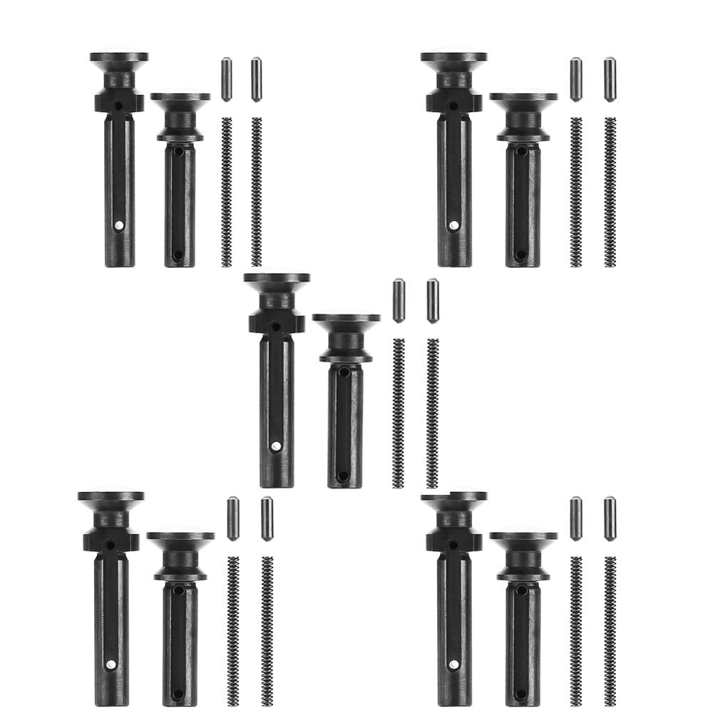 Magorui 5 шт Mil-Spec. 223/5. 56. 308/7. 62 удлиненные съемные поворотные штифты w/Detent и Spring