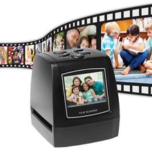 Le Film négatif portatif de Photo de glissière de Scanner de film négatif de 5MP 35mm convertit le câble dusb avec laffichage à cristaux liquides 2.4