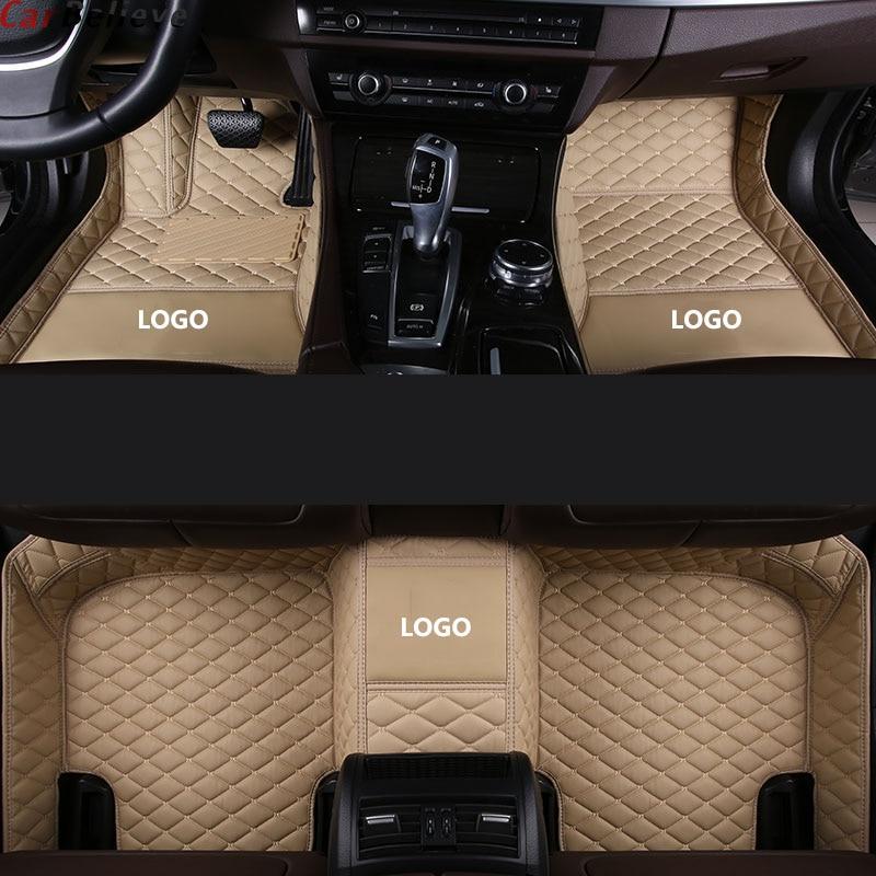 Alfombrilla de pies para suelo de coche para infiniti qx70 fx qx60 fx37 qx50 ex qx56 q50 q60 accesorios de coche alfombras impermeables