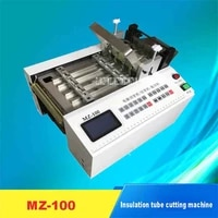 high quality microcomputer automatic pipe cutting machine mz 100 pipe cutting machine 110v220v 0 3kw 0 1 100mm 120 timesmin