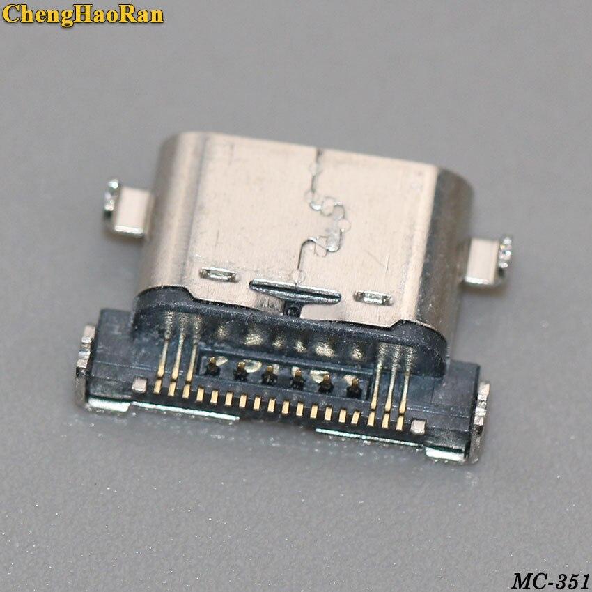 ChengHaoRan tipo C para LG G5 H868 868 nexus 5X H790 H791 H798 conector de carga micro usb puerto de enchufe