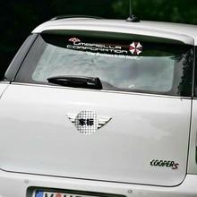 Etie Funny Car Accessories Umbrella Corporation Rear Windshield Car Sticker Decal for Volkswagen Polo Golf Audi A3  Focus 2 E90