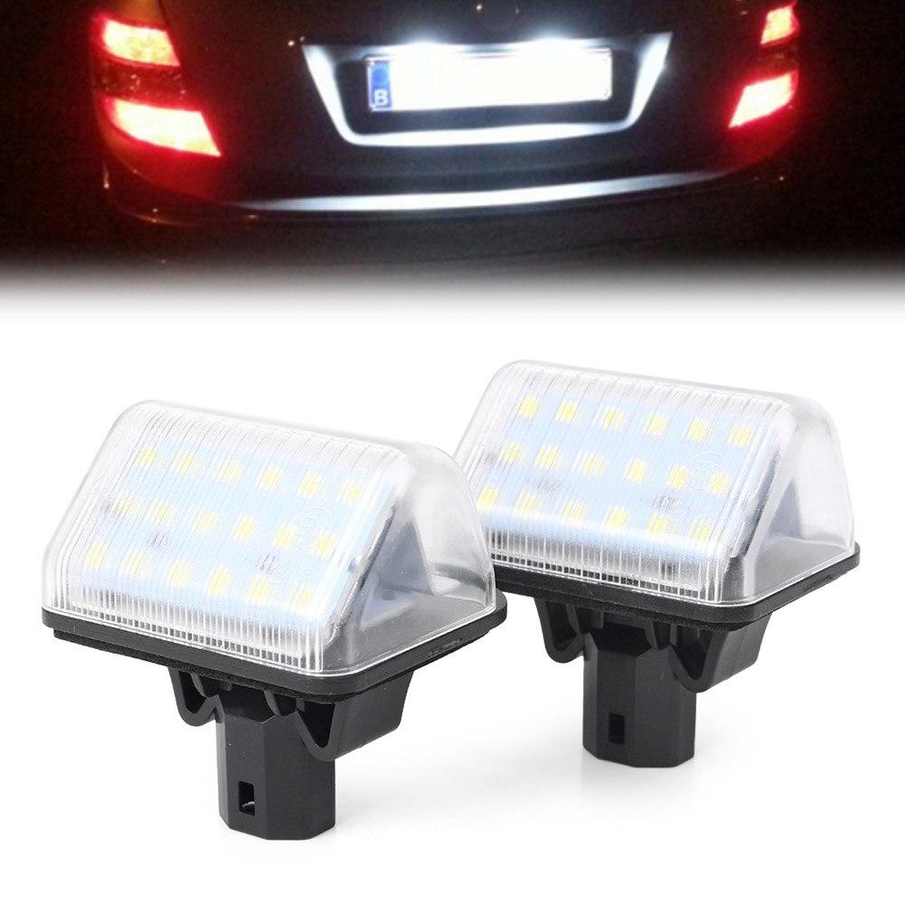 Para Mazda 6 sedán/velocidad 6 / 6 MPS / 6 Estación vagón CX-7 CX-5 coche LED luz de placa de matrícula lámpara de iluminación indicadores CE