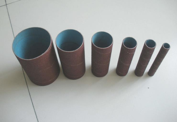 Абразивные инструменты, шлифовальный барабан для дерева и нержавеющей стали, рукава для шлифовальной бумаги, 100 шт., 1/2 дюйма * 115 мм