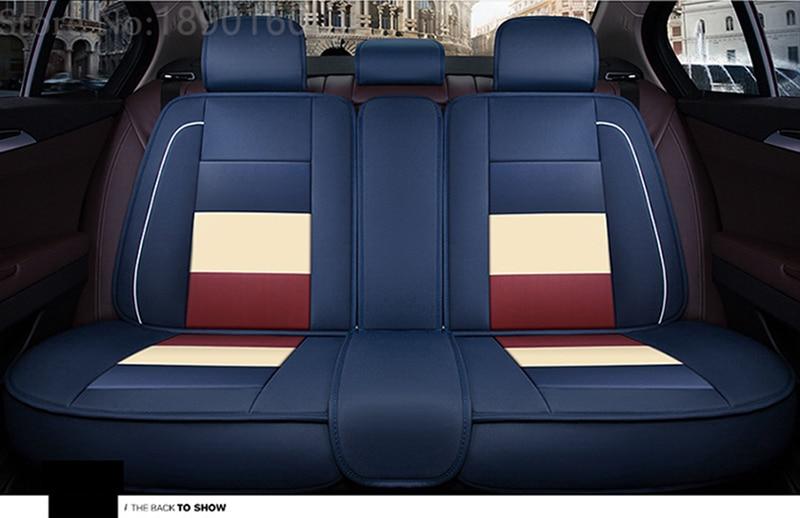 only rear leather car seat covers For Suzuki Swift Wagon GRAND VITARA Jimny Liana 2 Sedan Vitara sx4 auto accessories styling