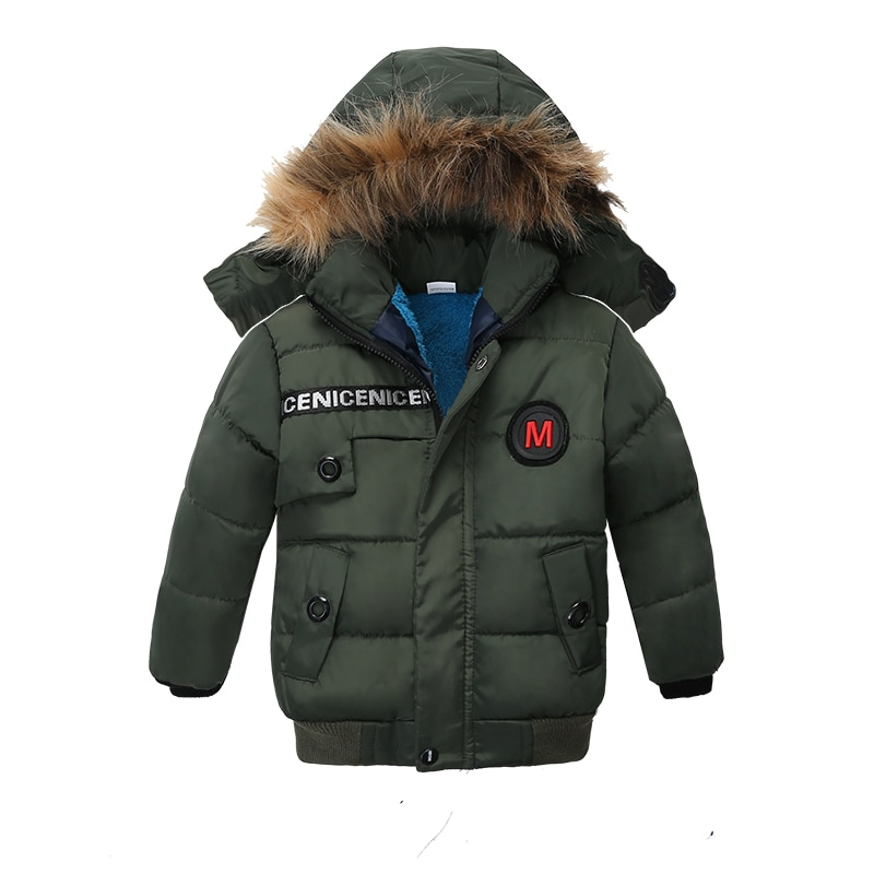 Children Coat 2019 Autumn Winter Jacket For Baby Boys Jacket Kids Warm Hooded Outerwear Coat For Infant Jacket 2 3 4Y Boy Clothe