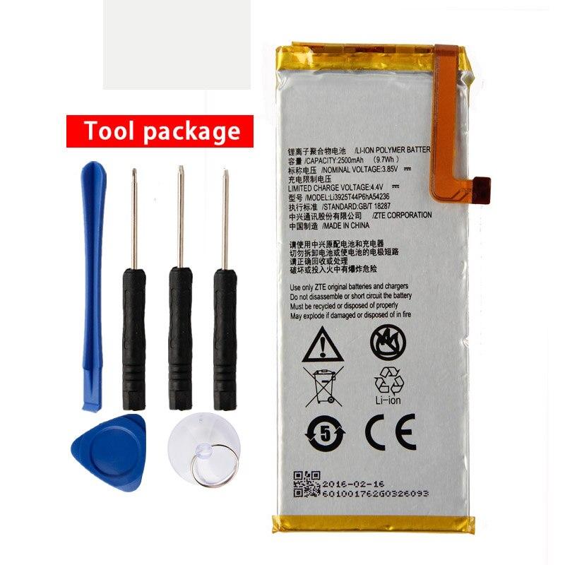 Оригинальный Li3925T44p6hA54236 Аккумулятор для телефона ZTE Blade S7 T920 2500 мАч