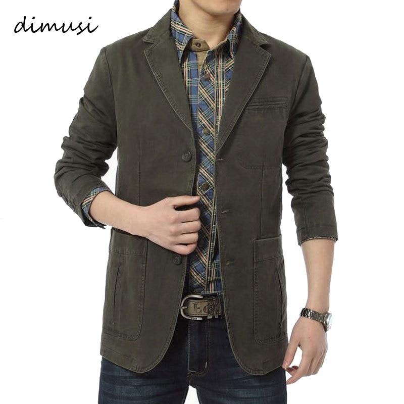 DIMUSI-سترة البيسبول القطنية غير الرسمية للرجال ، والملابس ذات العلامات التجارية ، ومجموعة الربيع والخريف