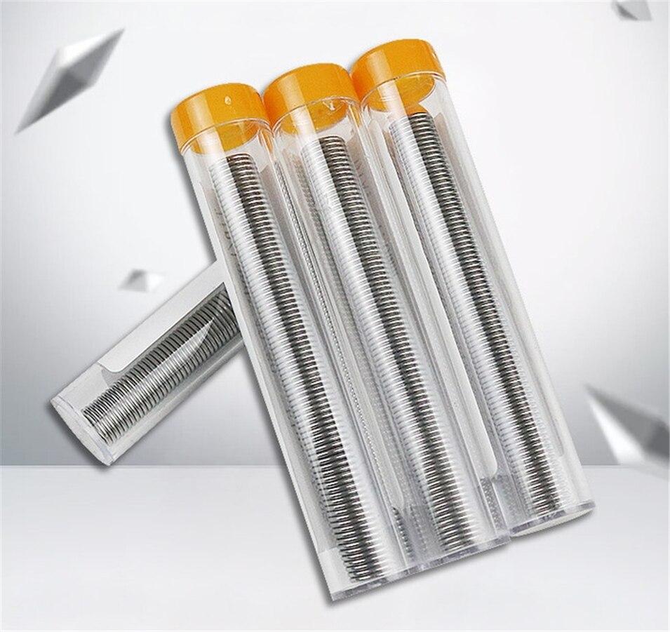 3 pièces 1.0mm 40/60 étain/résine Flux colophane noyau soudure soudure fil & stylo Tube distributeur étain plomb noyau soudure fil outil pas de lavage