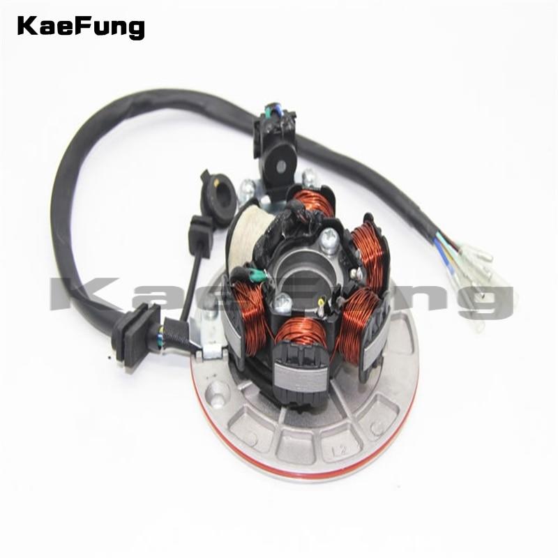 motorcycle parts Magneto Stator Fit To (LF LIFAN 140cc Kick-start Engine) KAYO BSE Pit Pro Automic Dirt Pit Bike Electric Parts