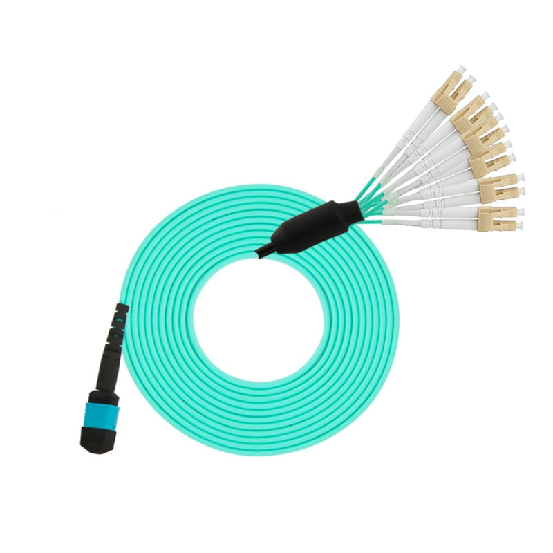Cable de conexión de fibra óptica MPO/APC-LC/APC de 12 núcleos MPO Cables 3M