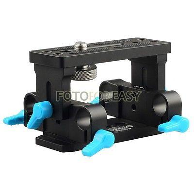 Base de Apoio para Dslr Fotga Tripé Placa Rod Rig Follow Focus Dp3000 15 mm