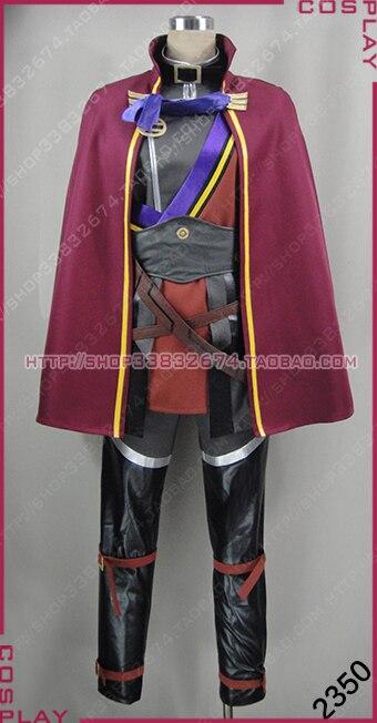 Traje de cosplay de Koutetsujou no kabanere Amatori Biba anisama personalizar cualquier tamaño