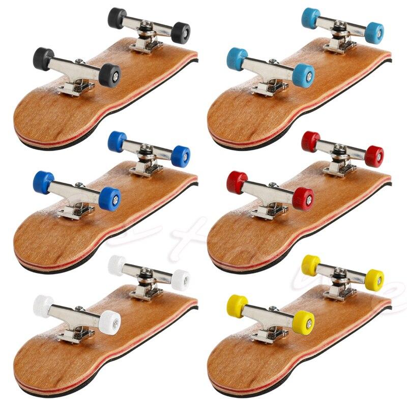 Деревянный фингерборд, скейтборд, спортивные игры, подарок для детей, 1 комплект