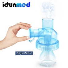 Taza de inhalación de 6 ml, parte de Aerosol, atomizador, tanque de medicina, accesorios para nebulizadores, Hogar para recién nacidos, niños, adultos