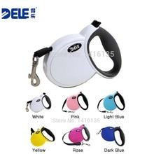 BEST Sale Pet Dog Leash Retractable dog Collar leash Products Dog Harness Dele Pet Dog Leash Collars Pet leash 3M White