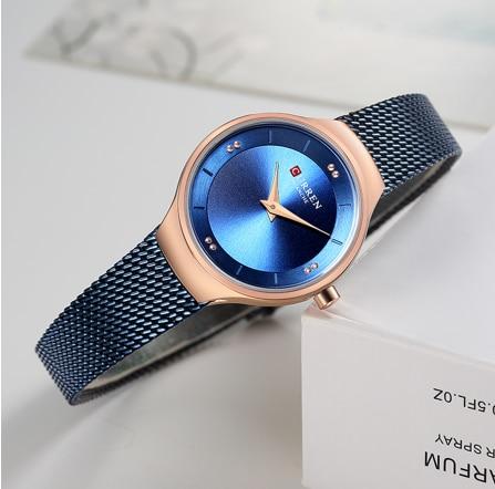 NEW Curren Luxury Brand Woman Stainless Steel Steel Wristwatch Watches Women Fashion Luxury Watches Female Wristwatch enlarge