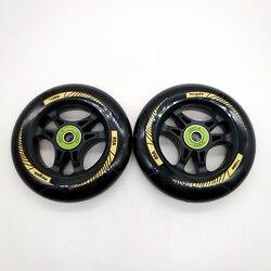 Frete grátis scooter de roda de diâmetro 110 milímetros de espessura 24mm ABEC-9