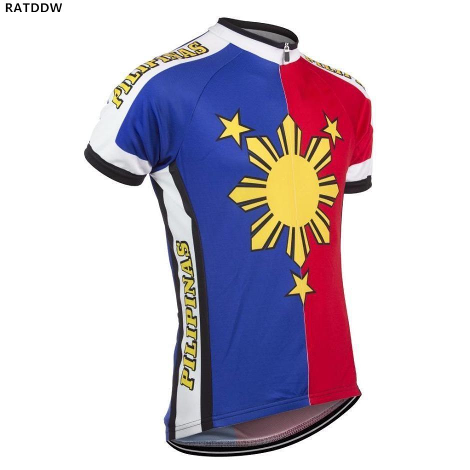 Pilipinas Велоспорт Джерси короткий рукав велосипедная одежда Maillot ciclismo hombre велосипед спортивная одежда Джерси