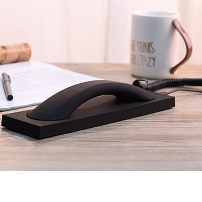 Clássico Retro telefone receptor de fone de ouvido com Atendimento de Telefone microfone para 3.5 milímetros redonda jack de fone de ouvido para smartphone iPhone Samsung HUAWEI