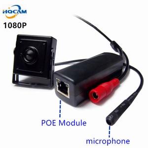 HQCAM 1080p POE mini IP Camera mini POE camera Audio ip camera Network Camera Support P2P ONVIF,Power Over Ethernet IPC web cam