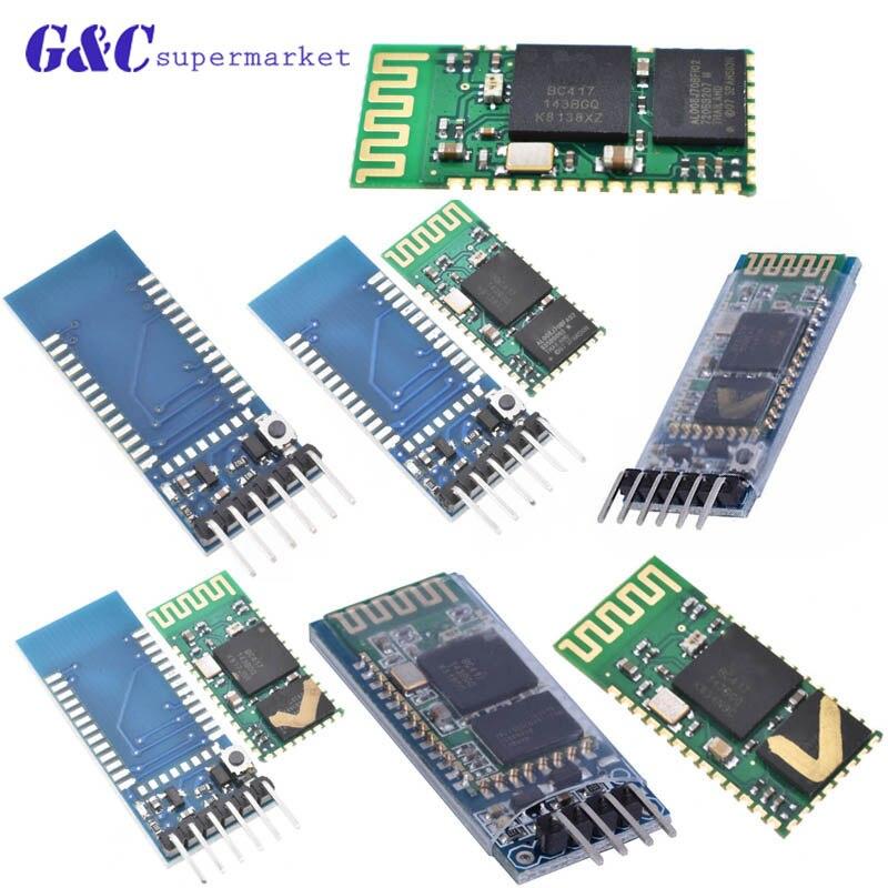 HC-05 HC05 Wireless Module For Arduino Serial 6 Pin Bluetooth / HC-06 4 Pin RF Receiver Transceiver Module RS232 Master Slave