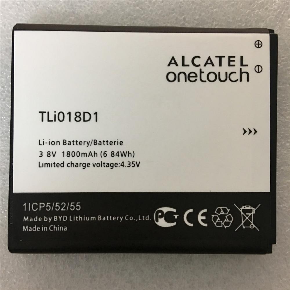 New 1800mAh TLi018D1 Battery for Alcatel one touch Pop D5 Dual 5038x OT5038X Pop 3 5015D OT 5016 5051A phone battery