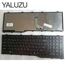 YALUZU nouveau clavier russe RU pour Fujitsu Lifebook AH532 A532 N532 NH532 avec cadre clavier dordinateur portable MP-11L63SU-D85 CP569151-01