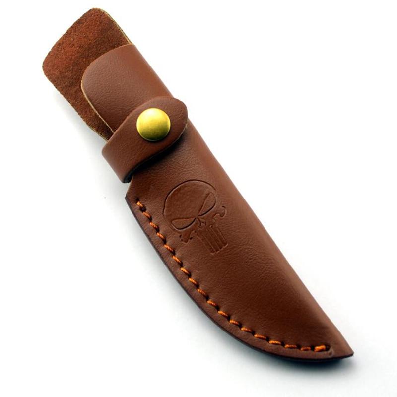 Первый слой из воловьей кожи, прямой Чехол для ножа, чехол для ножа, костюм, толщина лезвия 3,2-4 мм, 10-10,35 см, использование ножа