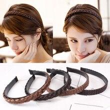 Offre spéciale mode 1 PC femmes filles bandeau créatif tresses chapeaux accessoires