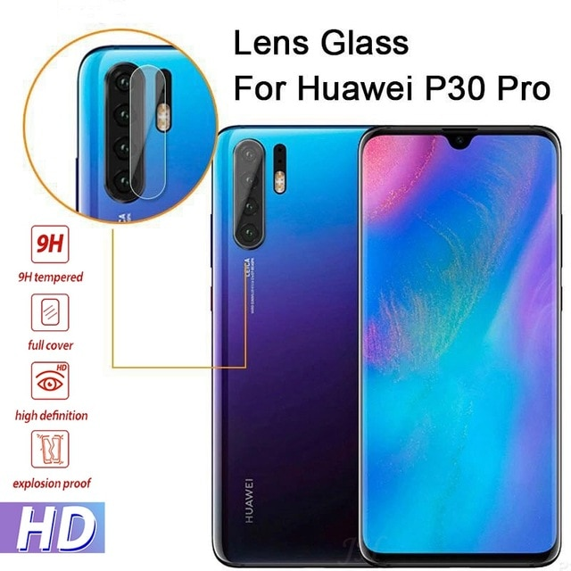 Protector de pantalla de lente de cámara trasera para Huawei Honor 10 Lite V20 7A 7C 8X P30 P20 Lite Mate 20 10 Pro Psmart 2019