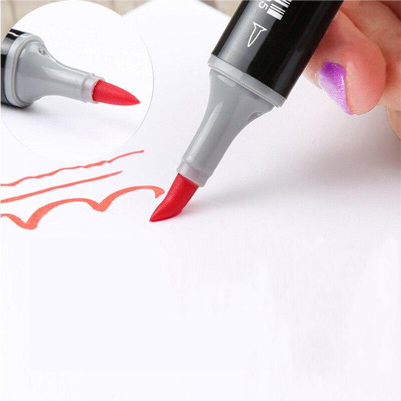 Finecolour 480 colores marcadores de doble cepillo EF102 Set de tinta a base de Alcohol marcador artístico para boceto proveedor escolar