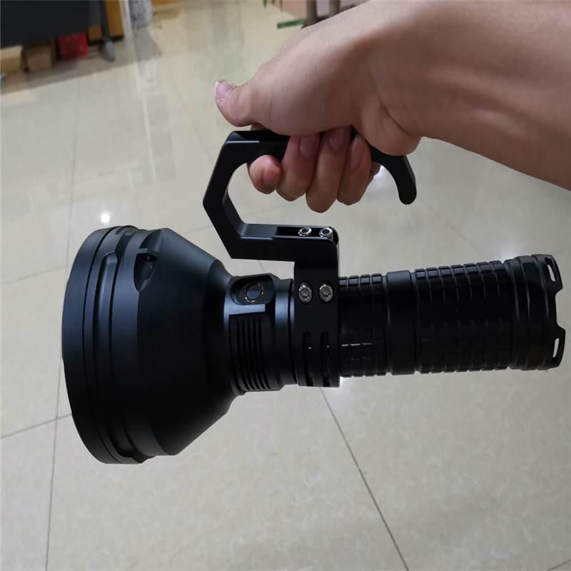DIY mango de linterna de repuesto para Astrolux MF Series Astrolux MF01 MF02 MF02S MF04 MF04S linterna portátil Grip