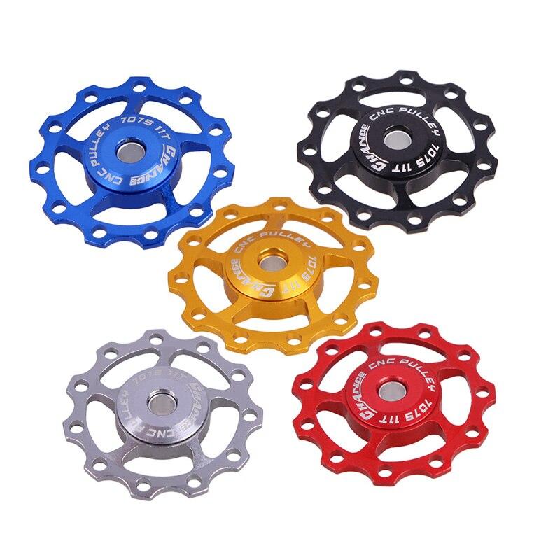 Haute qualité vtt vélo dérailleur Aest dérailleur arrière poulie JOCKEY roue 11T 5mm ou 6mm vélo cyclisme accessoires