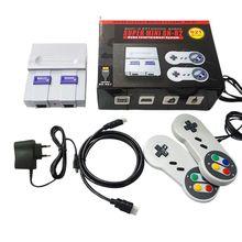 Ue/usa Plug SUPER MINI NES rétro classique Console de jeu vidéo lecteur de jeu TV intégré 821 jeux avec deux manettes