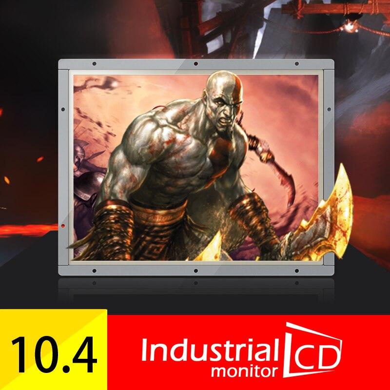 Monitor LCD de Marco abierto M104OF/Faismars de 10,4 pulgadas con TV, Monitor Industrial de pantalla cuadrada de 10,4 pulgadas a la venta