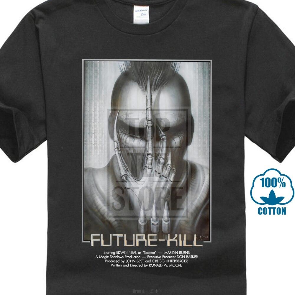 Future Kill Футболка постер фильма H R Giger научная фантастика ужас инопланетянин