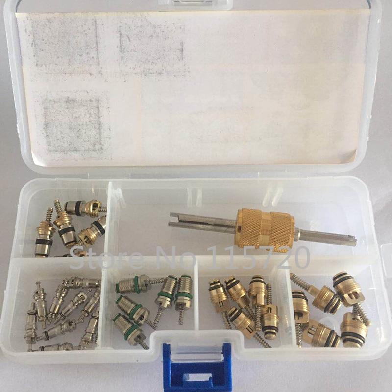 Auto AC kit de reparación de la válvula de HVAC núcleo clave + Dual removedor de instalador de herramienta para Regal Beverly Vw Toyota VW, Elantra