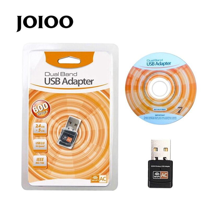 RTL8811 chips Mini 600Mbps USB tarjeta de red inalámbrica WiFi LAN adaptador gran oferta envío gratis 802.11ac 5GHZ