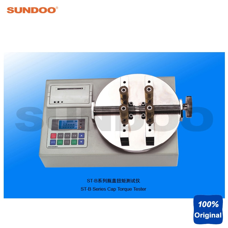 Sundoo ST-10B 10N. m medidor de torsión de tapa de botella Digital