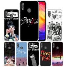Stray Kids K POP Case for Xiaomi Redmi Note Note 8 8T 7 9S 9 K30 Pro Zoom Mi 9T 10 Lite 5G X2 F1 Hard PC Phone Cover Capa