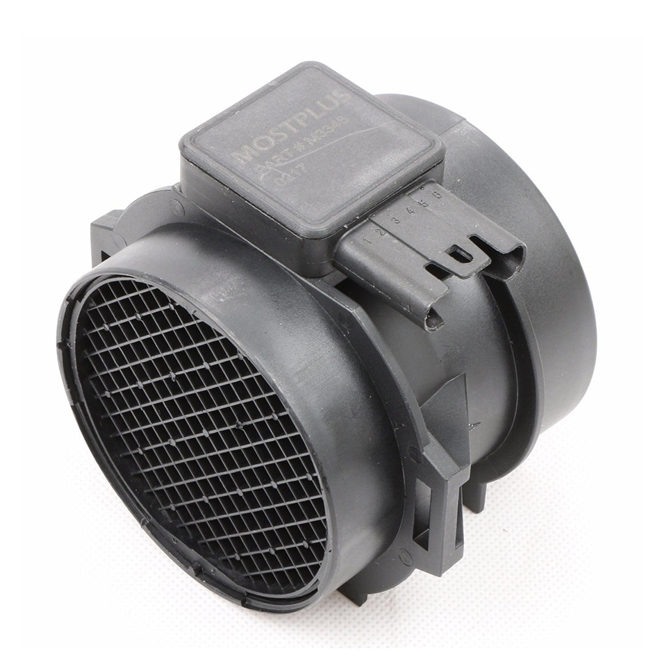 MOSTPLUS masa nueva medidor, Sensor de flujo de aire Sensor MAF para BMW 325Ci 325 X3 Z4 5WK96471 M54B25 entrada de aire de motor para Hood 74-10124