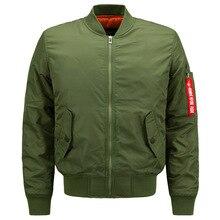 Autumn Winter Parka Men Army Military Motorcycle Flight Jackets Pilot Air Force Men Bomber Baseball Jacket 6XL