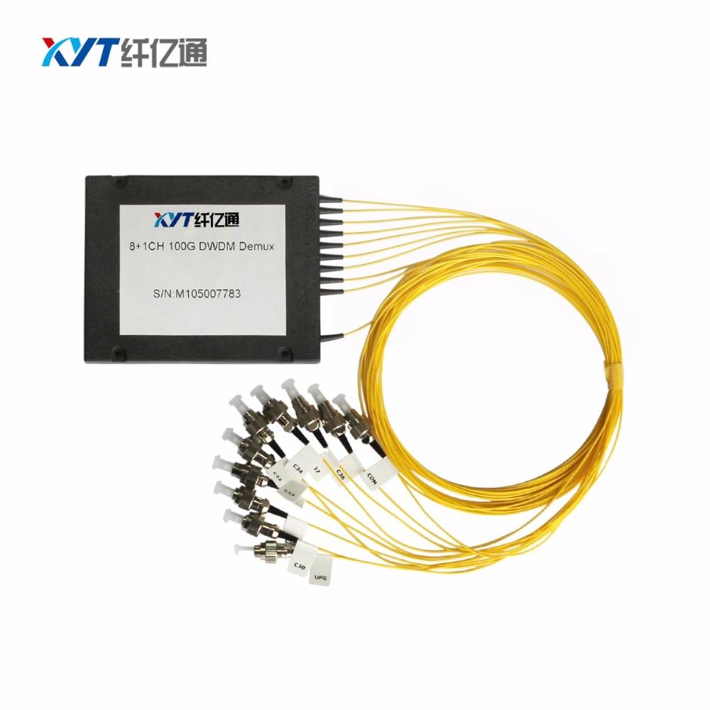 Free shipping dual fiber 8ch cwdm mux/demux (2 input 16 output) for network CWDM