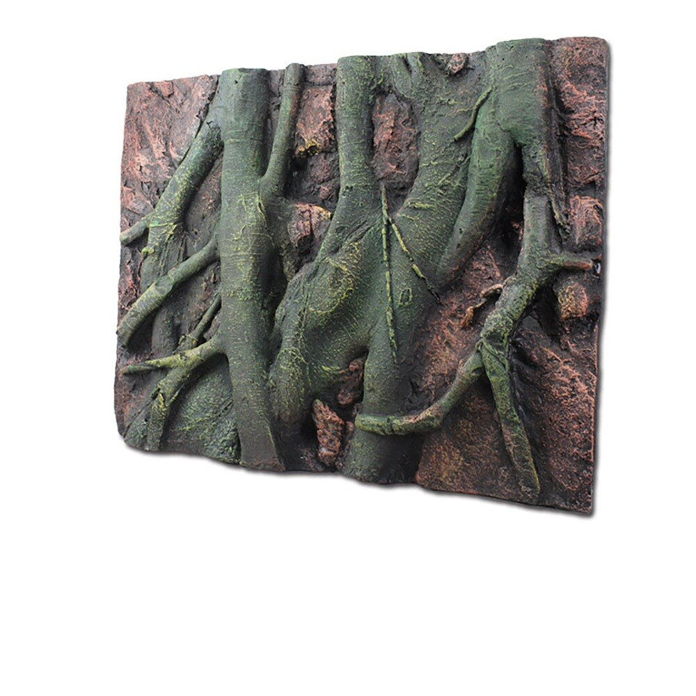3D Background Foam Landscaping Reptile Box tree root Pattern Gecko Lizard Tortoise Tarantula Frog Vivarium Terrarium Decoration