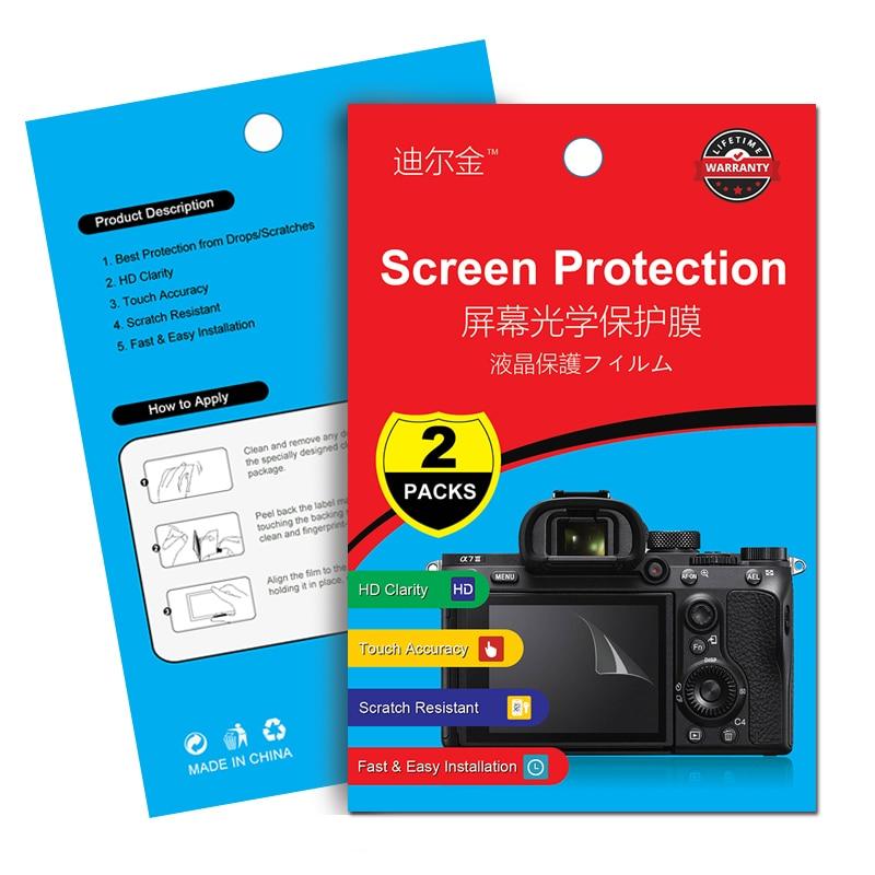 2Pcs Screen Protector LCD Film for Panasonic LX10 LX15 FZH1 LX9 ZS70 TZ90 ZS45 TX1 FZ47 G6 G5 ZS70 TZ90 TS60 TZ80 TZ40 SZ30 TS7