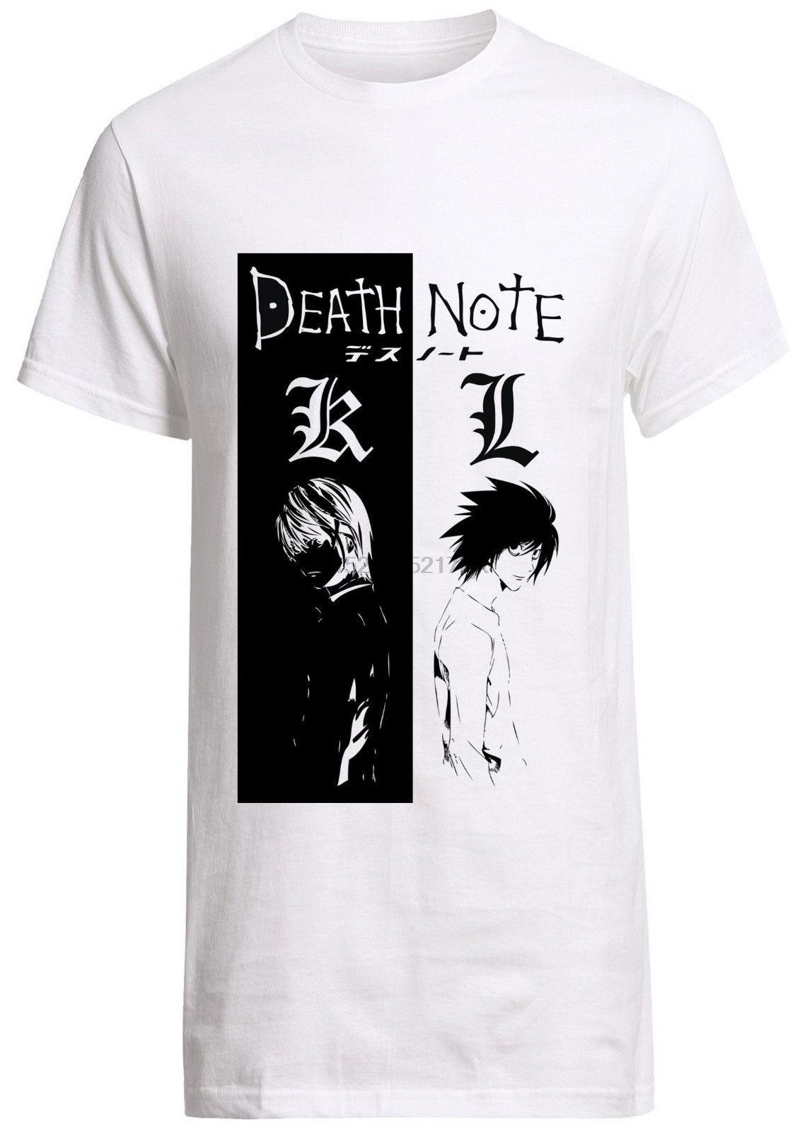 La nota de muerte anime TV fan camisa Manga Ryuk goku naruto personalizado lejía camiseta de akira envío gratis Harajuku t camisa