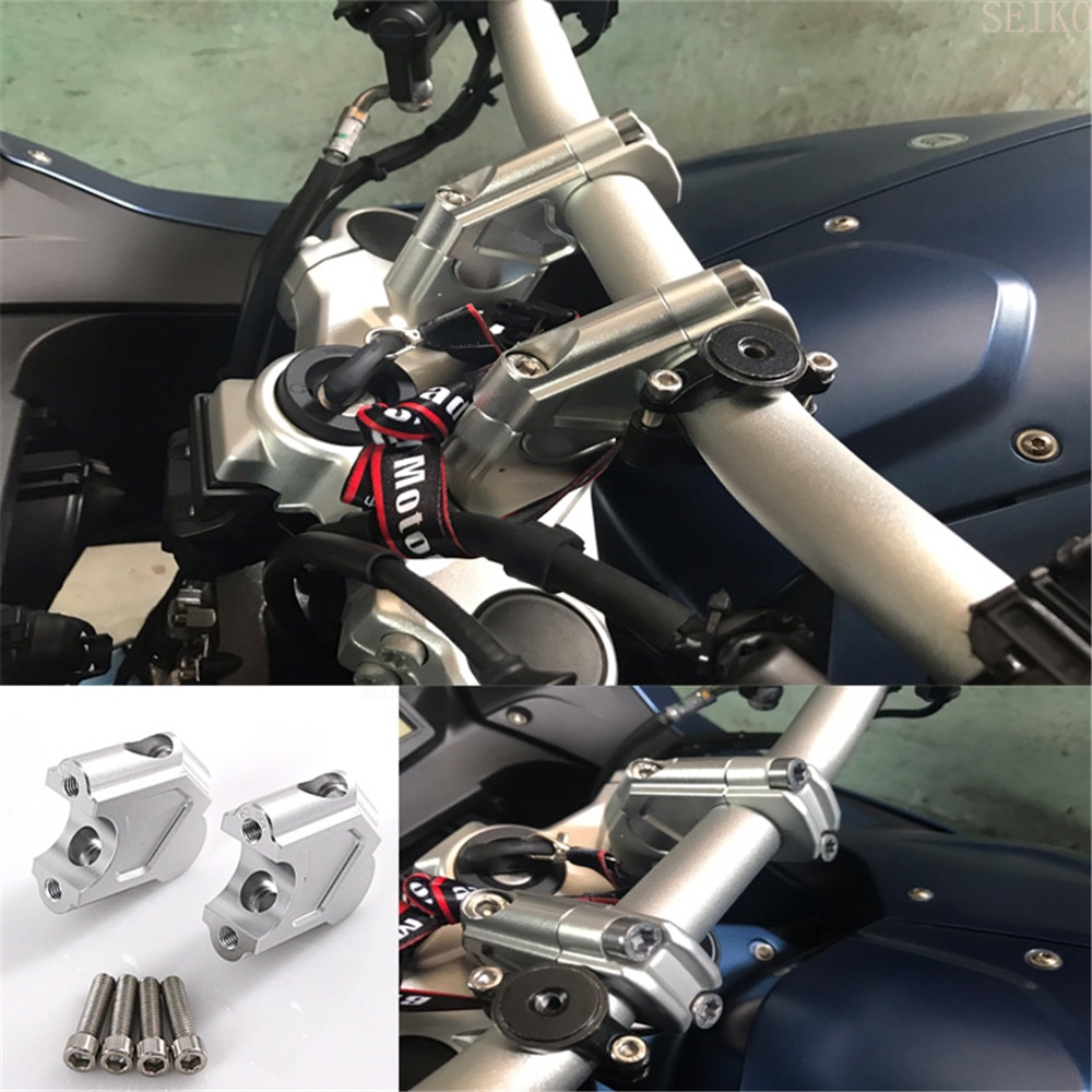 Para BMW F800GS GT 2008-2017 F800 GS ADV-aventura 2014, 2015, 2016, 2017 de la barra de la manija para planteó extender del montaje del manillar Riser