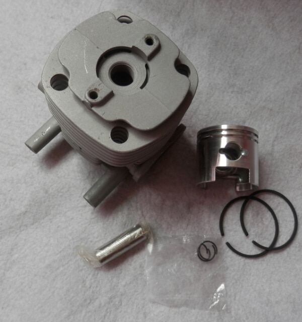 40mm b45 cilindro kit se encaixa shindaiwa rc45 bp45 gp450 dyb454 weedeater brushcutter zylinder pistão anel clipes montagem
